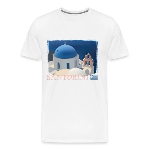 Santorini - Men's Premium T-Shirt