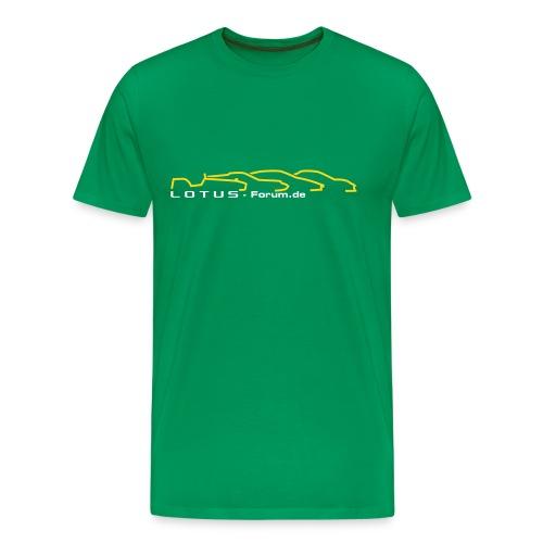 T-Shirt - großes Logo - Männer Premium T-Shirt
