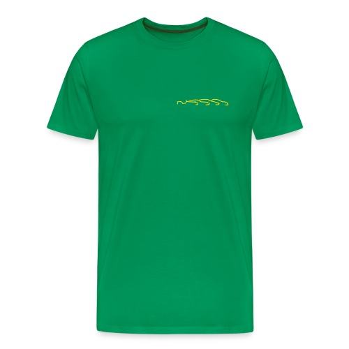 T-Shirt - kleines Logo - Männer Premium T-Shirt