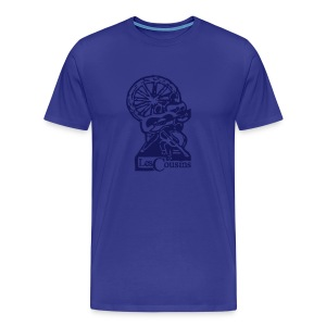 Les Cousins Men's T-shirt (Navy logo) - Men's Premium T-Shirt