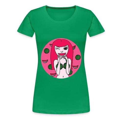 Melon Girl  - Frauen Premium T-Shirt