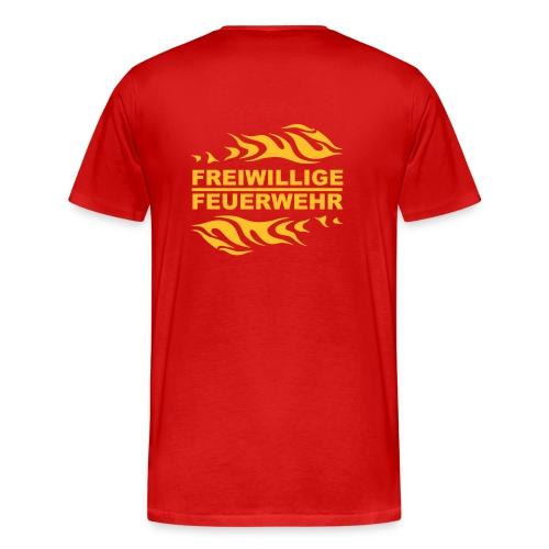 Feuerwehr rot - Männer Premium T-Shirt