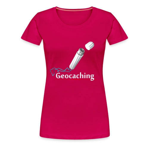 Geocaching extreme - Frauen Premium T-Shirt