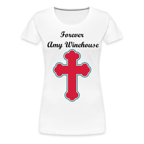 Amy Winehouse T-shirt / Frauen - Frauen Premium T-Shirt