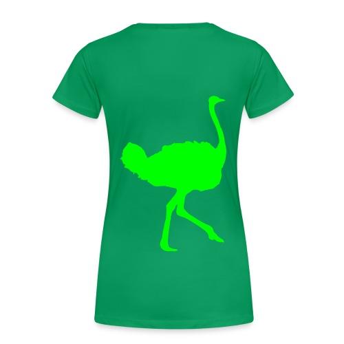 T SHIRT FEMME (autruche) - T-shirt Premium Femme