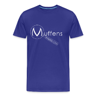 T-Shirts ~ Men's Premium T-Shirt ~ Muffens Media T-Shirt: Blue