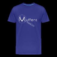 T-Shirts ~ Men's Premium T-Shirt ~ Muffens Media T-Shirt: Blue