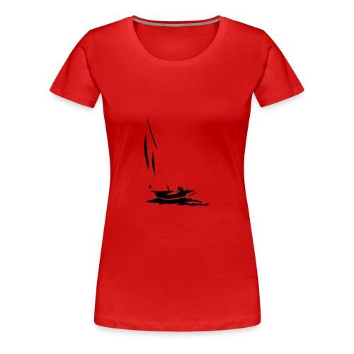 rouge - T-shirt Premium Femme