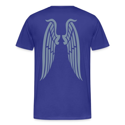 Ayresome Angel - Silver wings - Men's Premium T-Shirt
