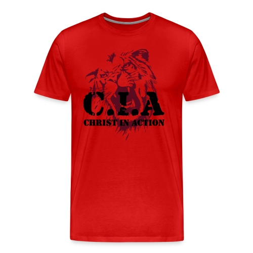 Lion of Judah (C.I.A) - Men's Premium T-Shirt