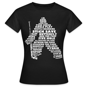 Hockey Goalie Terminology Women's' T-Shirt - Women's T-Shirt