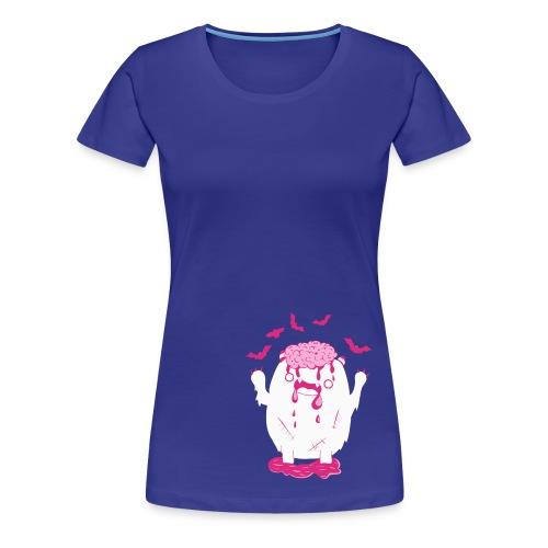 cute pink monster - Frauen Premium T-Shirt