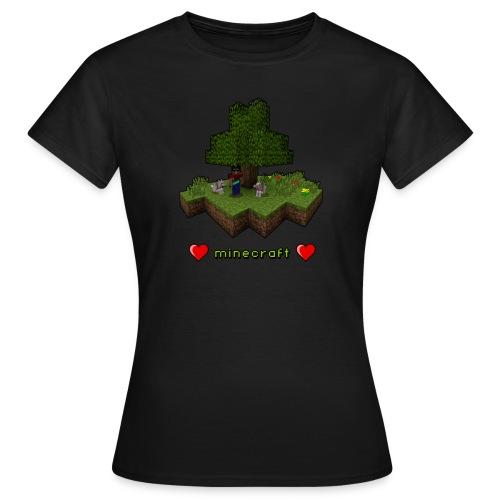 Minecraft Love (Girls) - Women's T-Shirt