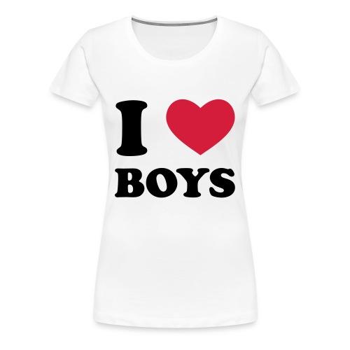 Frau weiß was sie will - Frauen Premium T-Shirt