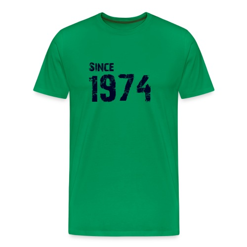 Since 1974 - Mannen Premium T-shirt