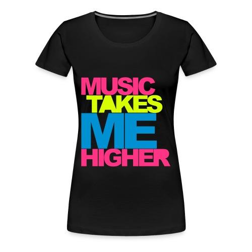 Premium-T-shirt dam