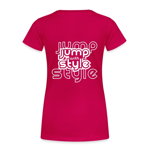 Jump with style, jumprope t-shirt - Women's Premium T-Shirt
