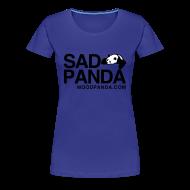 T-Shirts ~ Women's Premium T-Shirt ~ Sad Panda - Girlie