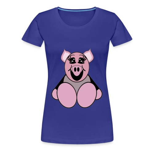 T shirt femme cochon - T-shirt Premium Femme