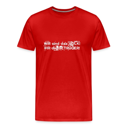 volk2 T-Shirts - Männer Premium T-Shirt
