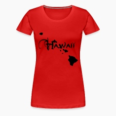 Hawaii, the surfers paradise island Ukulelisten.  T-Shirts