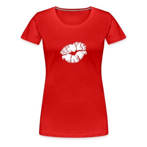 Gierlieshirt Kiss - Frauen Premium T-Shirt