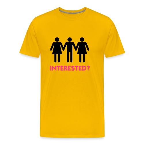Interested? - Men's Premium T-Shirt