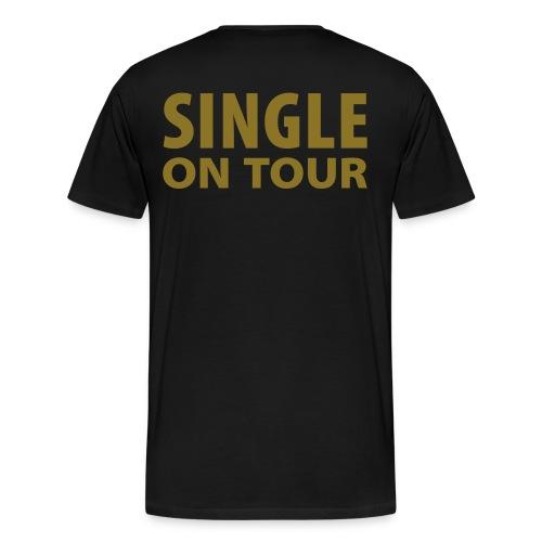 Single on tour - Herre premium T-shirt