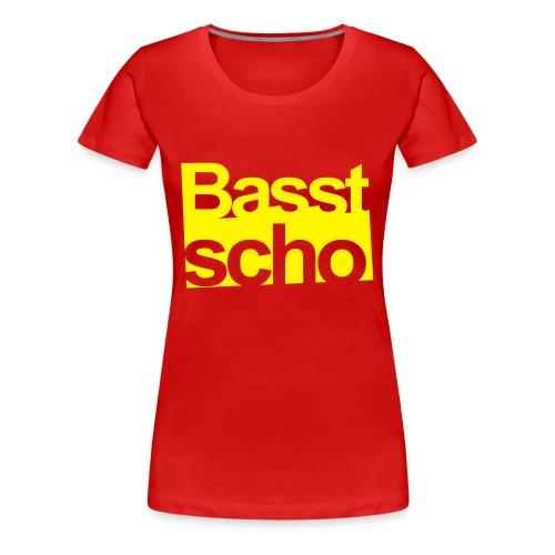 BASST SCHO Dreiflüsse Records - Frauen Premium T-Shirt
