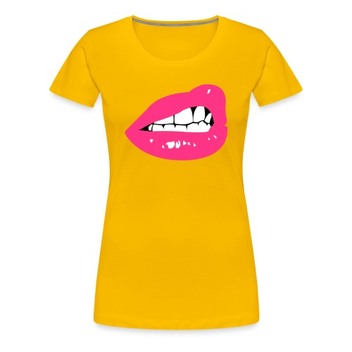 Lips - Frauen Premium T-Shirt