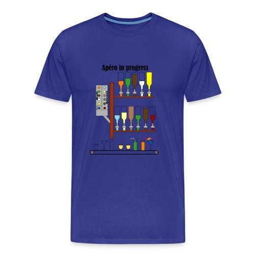 apéro in progress - T-shirt Premium Homme