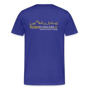 Basic-T-Shirt duck@war (Logo gelb-weiß) - Männer Premium T-Shirt
