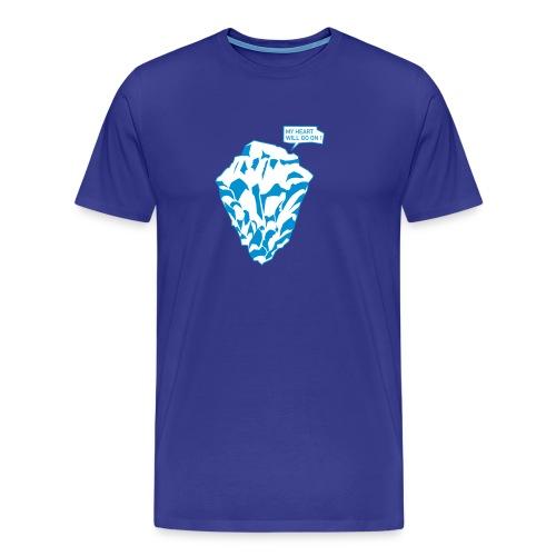 WRZ_48_BLU_MYHEART - Männer Premium T-Shirt