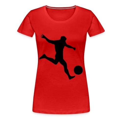 Football 1 - Vrouwen Premium T-shirt