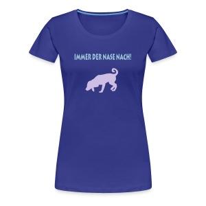 Schnüffelhund - Frauen Premium T-Shirt