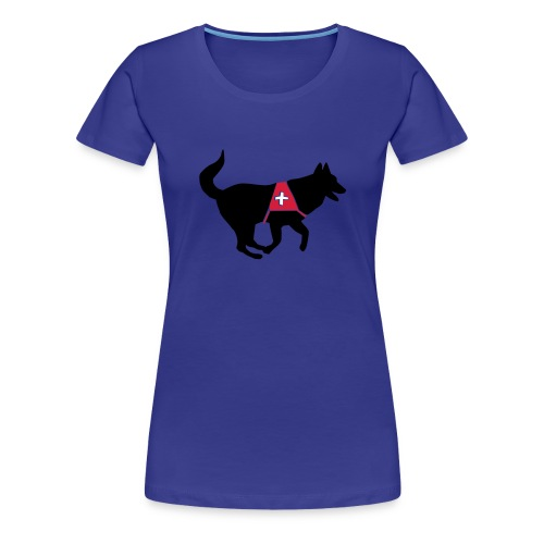 Rettungshund - Frauen Premium T-Shirt
