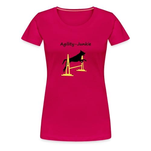 Agility-Junkie - Frauen Premium T-Shirt