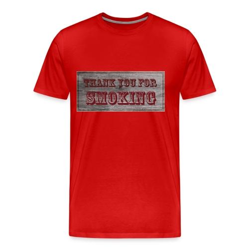 Thank you for smoking - Männer Premium T-Shirt