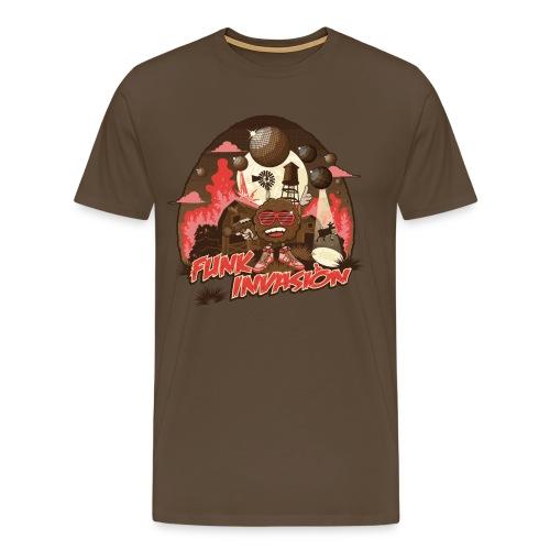 Funk invasion - T-shirt Premium Homme