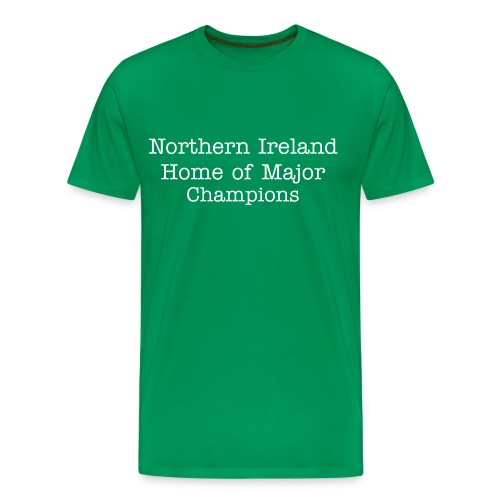 Home of Major Cahmpions - Men's Premium T-Shirt
