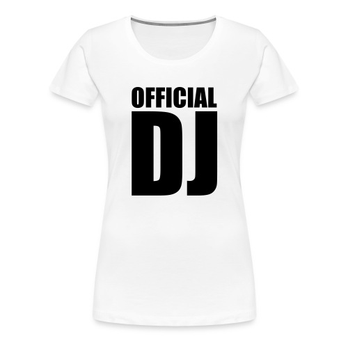 Girlie DJ - Frauen Premium T-Shirt