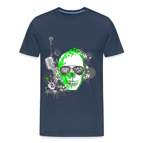 SKULL-GEEN - Männer Premium T-Shirt
