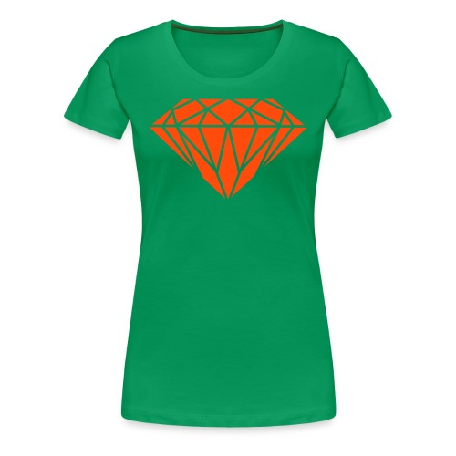 diamond - Women's Premium T-Shirt