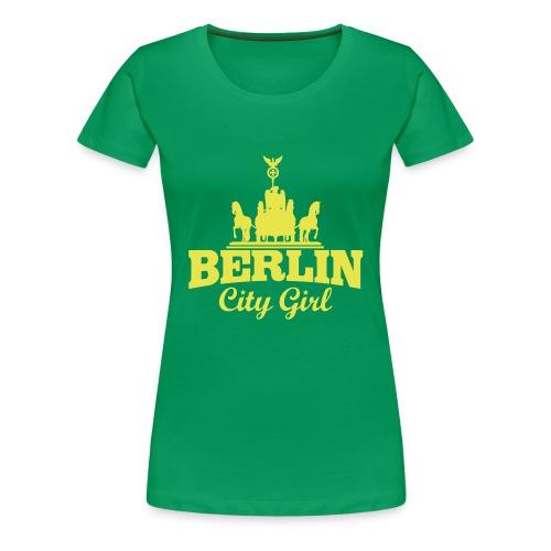 Berliner Mädchen - Frauen Premium T-Shirt