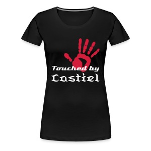 Touched by Castiel - Camiseta premium mujer