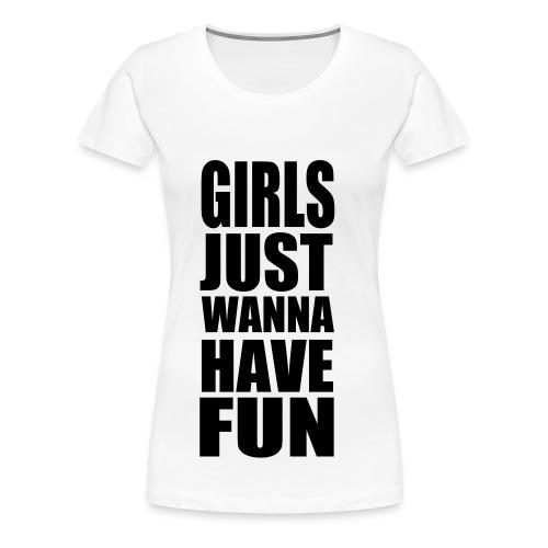 Girls fun T-shirt  - Women's Premium T-Shirt
