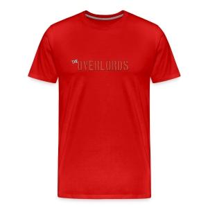 Overlords Text T XL - Men's Premium T-Shirt