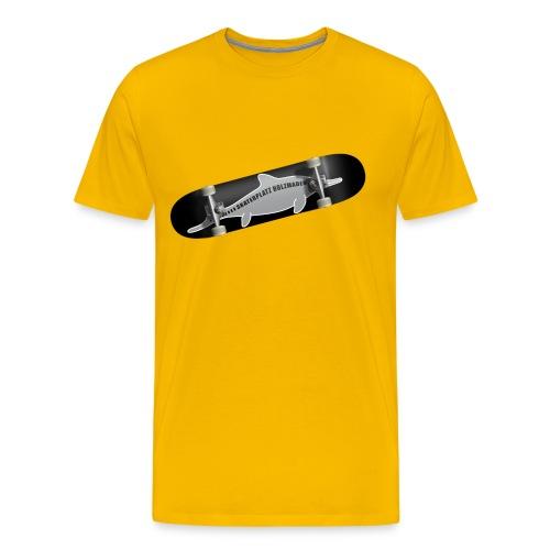 Skateboard Ichthyosaurus Foto Männer - Männer Premium T-Shirt