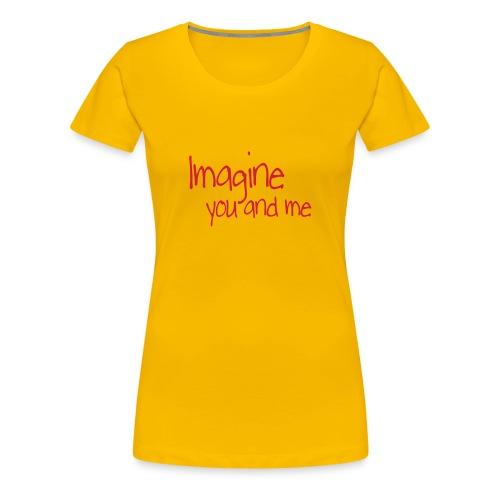 T-skjorte for damer - Premium T-skjorte for kvinner