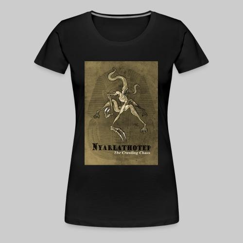 FTG: Nyarlathotep - The Crawling Chaos - Women's Premium T-Shirt